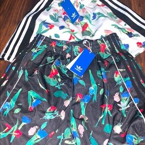 Two pairs of adidas shorts